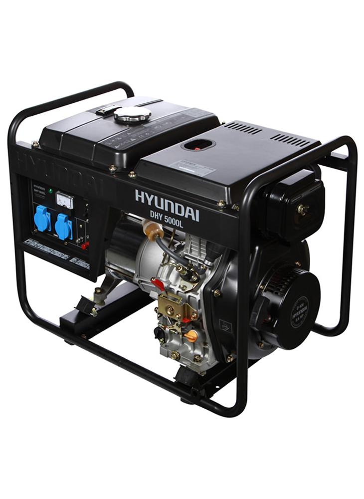 Дизельний генератор HYUNDAI DHY 5000L